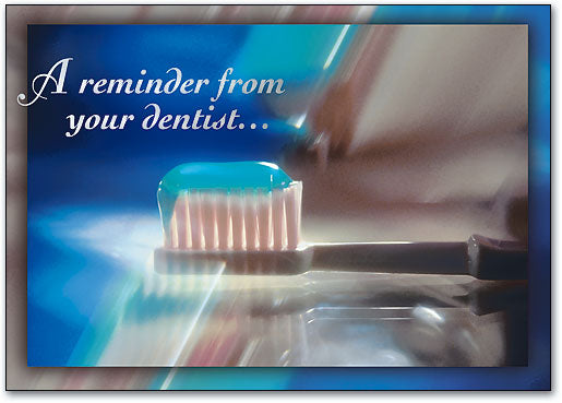 Reminder from Your Dentist Postcard