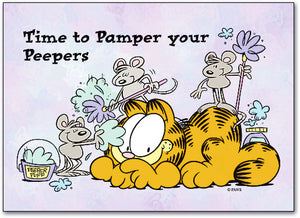 Pamper Your Peepers Postcard