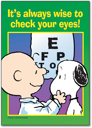 Wise To Check Your Eyes Postcard