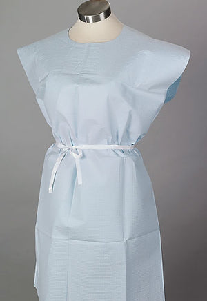 Disposable Gowns (Blue Tissue)