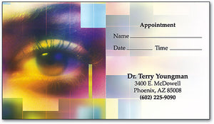 Eye Boxes Appointment Business Card