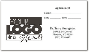 Great Impressions™ One-color Appointment/Business Cards