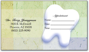 Professional Plaid Appointment Business Card