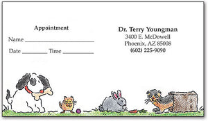 Storybook Pets Appointment Business Card