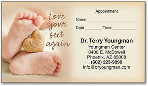 Love Again Appointment Card