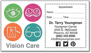 Round Out Your Vision Appointment Card