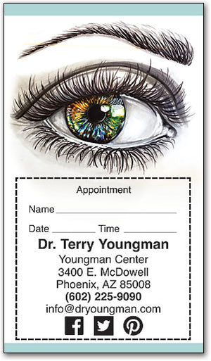 Visions Of Color Appointment Card