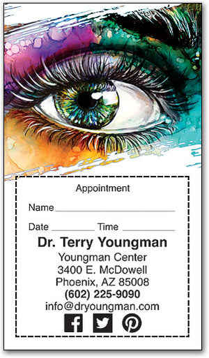 Bold Vision Appointment Card
