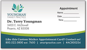 Customised Business Appointment Cards