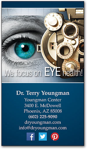 Eye Machine Focus Business Card