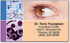 Regular Eye Exams Appointment Business Card