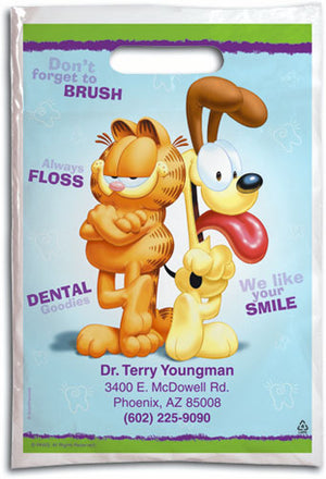 Garfield and Odie Dental Supply Bag
