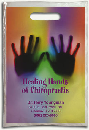 Colorful Chiro Hands Supply Bag