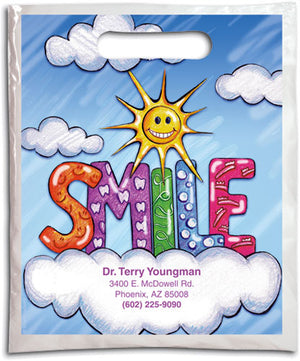 Sun, Cloud & SMILE Supply Bag (Small)