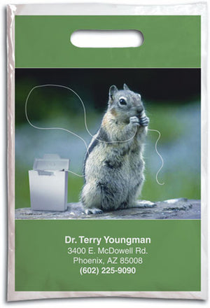 Flossing Squirrel Supply Bag