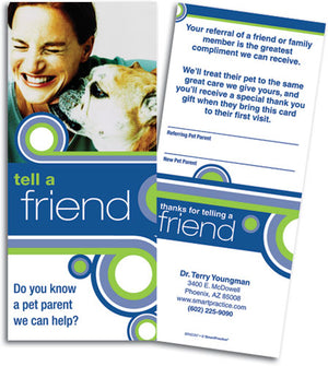 Tell a Friend Referral Slip