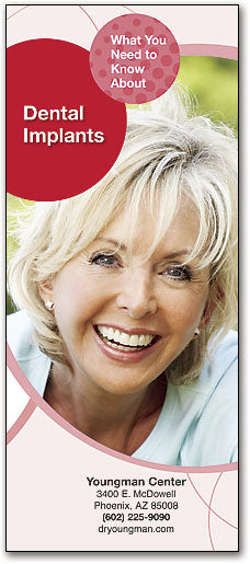Bright Smiles Brochure: Dental Implants