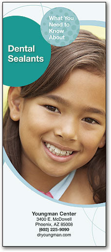 Bright Smiles Brochure: Dental Sealants