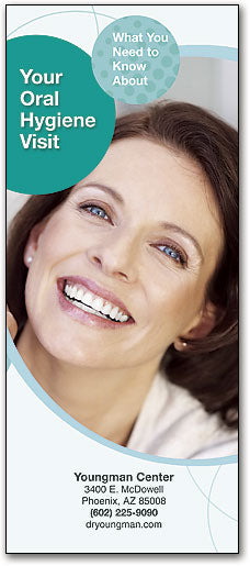 Bright Smiles Brochure: Your Oral Hygiene Visit