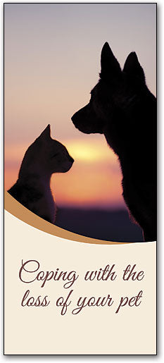 Coping with the Loss of Your Pet Brochure
