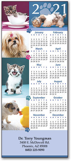 Pets And Paws Promotional Calendar