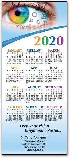 Vision Customizable Promotional Calendar