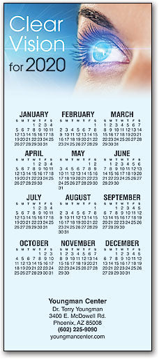 Radiant Vision Customizable Promotional Calendar