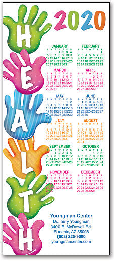 Health In Your Hands Promotional Calendar