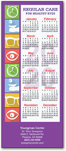 Timely Vivid Customizable Promotional Calendar