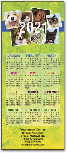 Everyone Is Smiling Promotional Calendar