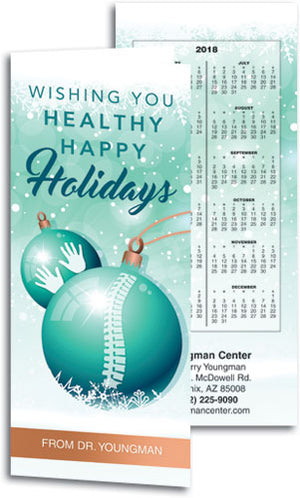 Blissful Holiday Healing Tear Off Calendar