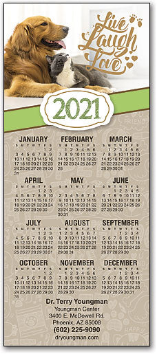 Words to Live By Promotional Calendar