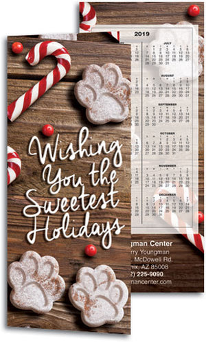 Sweetest Treats Tear Off Calendar Card with Envelope