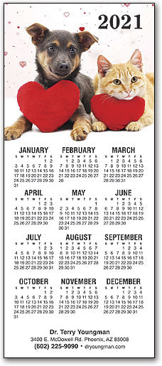Love and Loyalty Promotional Calendar