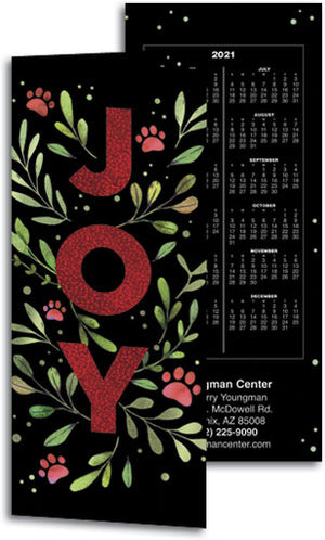 Paws of Joy Tear Off Calendar