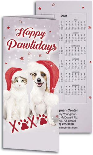 Pawliday Greetings Tear-off Calendar