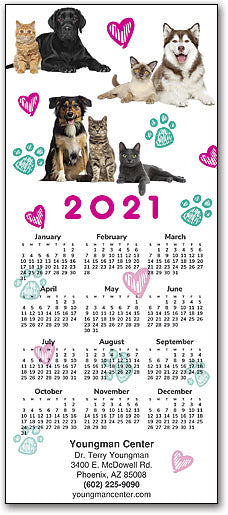 Wiggles and Wags Promotional Calendar