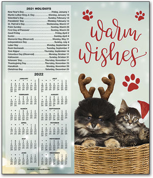Yuletide Greetings Tear Off Calendar