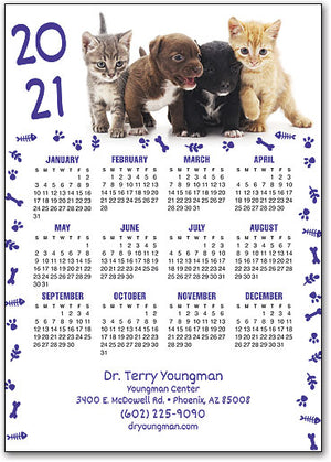 Pups and Kittens Calendar ReStix