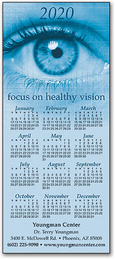 Focus Vision Customizable Promotional Calendar