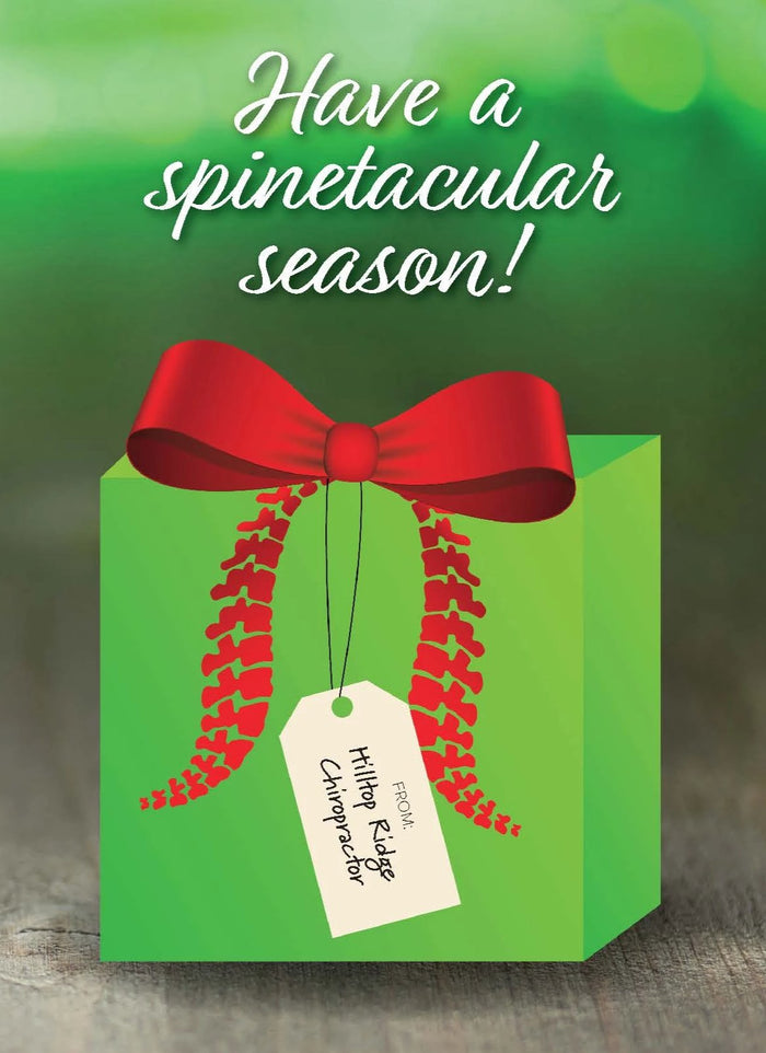 Have a Spinetacular Season Folding Card - FC32AU