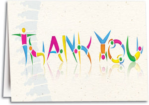 Figurines Thank You Folding Card