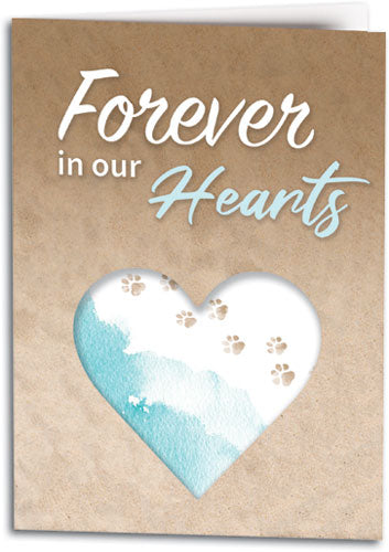 Furever In Our Hearts Folding Card