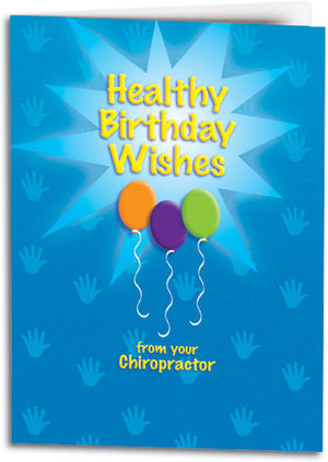 Healthy Wishes Folding Card