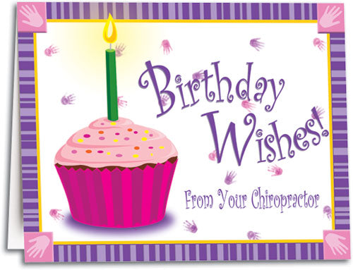 Cupcake Wishes Folding Card