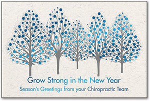 Grow Strong Deluxe Holiday Folding Card