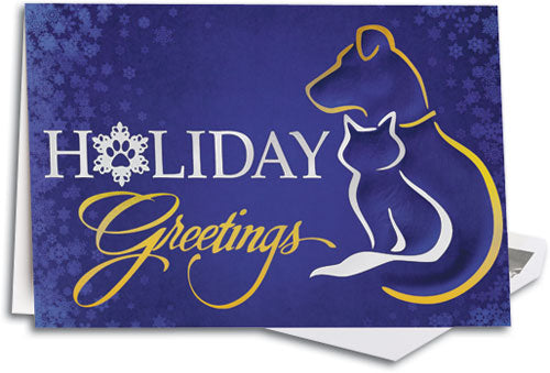 Midnight Pets Folding Card