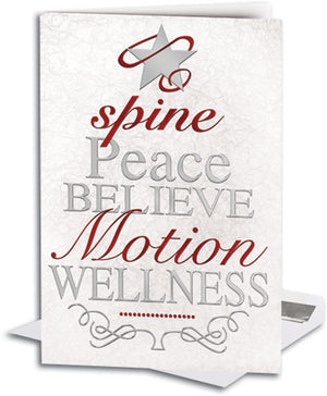 Chiro Christmas Tree Deluxe Folding Card