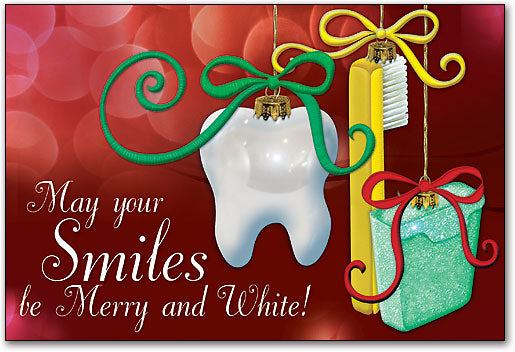 Dental Ornaments Folding Card