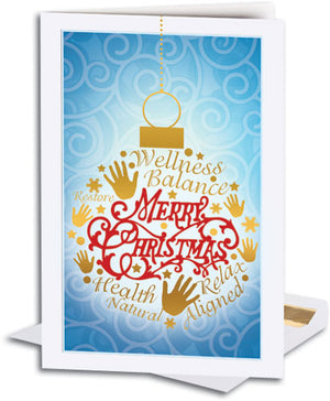 Words of Wellness Deluxe Holiday Card